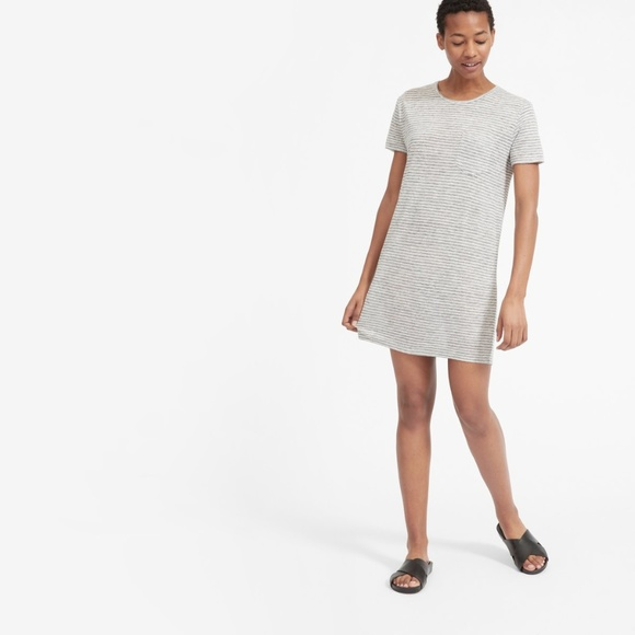 aef3f5e1a6e4 Everlane Dresses & Skirts - Everlane Linen Box Cut Tee Dress